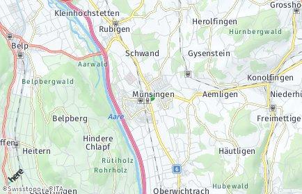 Stadtplan Münsingen OT Tägertschi