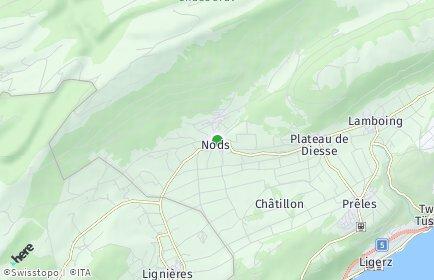 Stadtplan Nods