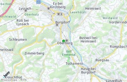 Stadtplan Oberburg