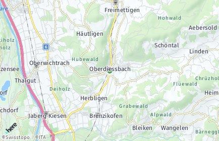Stadtplan Oberdiessbach