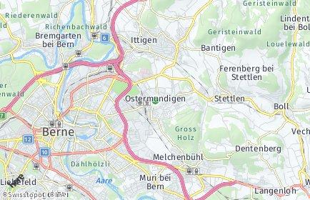 Stadtplan Ostermundigen