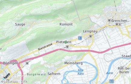 Stadtplan Pieterlen