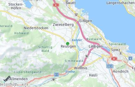 Stadtplan Reutigen