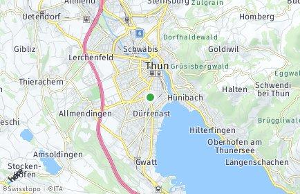 Stadtplan Thun OT Neufeld