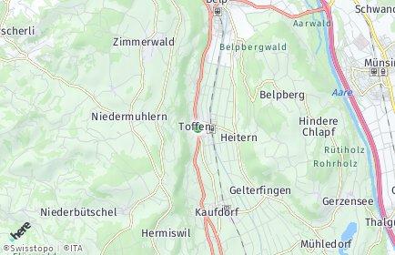 Stadtplan Toffen