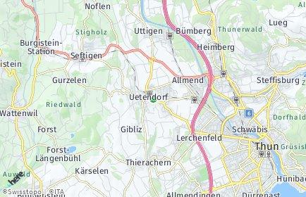 Stadtplan Uetendorf