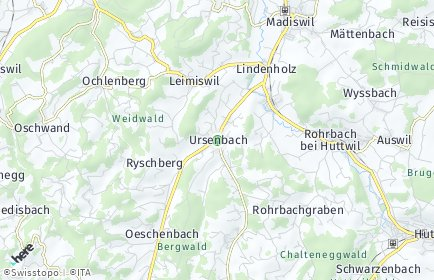 Stadtplan Ursenbach