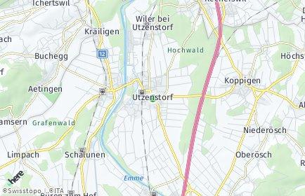 Stadtplan Utzenstorf