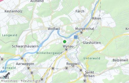Stadtplan Wynau