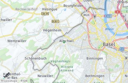 Stadtplan Allschwil