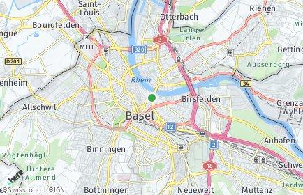 Stadtplan Basel