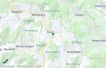 Stadtplan Buus