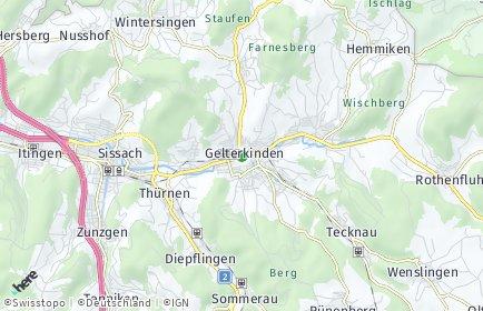 Stadtplan Gelterkinden