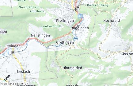 Stadtplan Grellingen