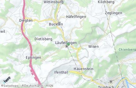Stadtplan Läufelfingen