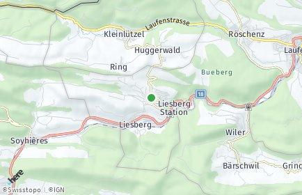 Stadtplan Liesberg