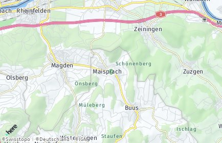 Stadtplan Maisprach