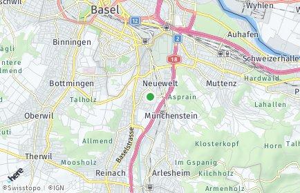 Stadtplan Münchenstein