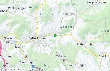 Stadtplan Ormalingen