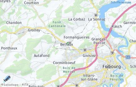 Stadtplan Belfaux