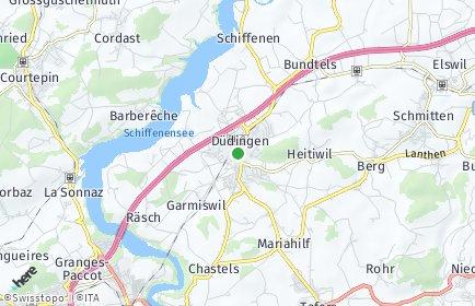 Stadtplan Düdingen