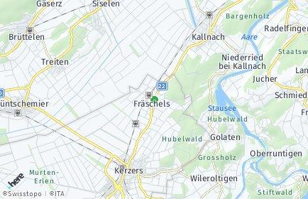 Stadtplan Fräschels