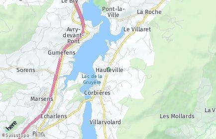 Stadtplan Hauteville