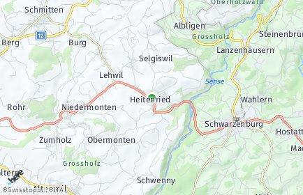 Stadtplan Heitenried