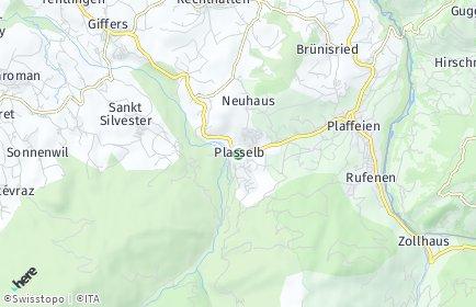 Stadtplan Plasselb