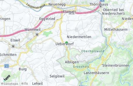 Stadtplan Ueberstorf