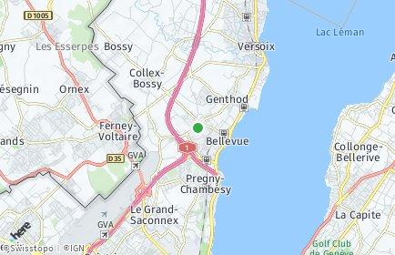 Stadtplan Bellevue