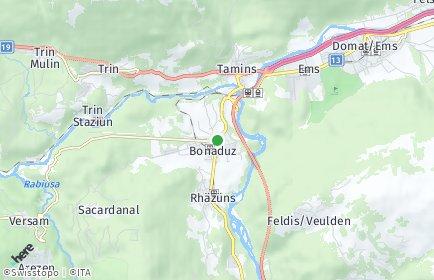 Stadtplan Bonaduz