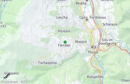 Stadtplan Flerden