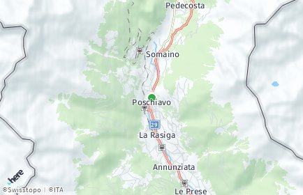 Stadtplan Poschiavo