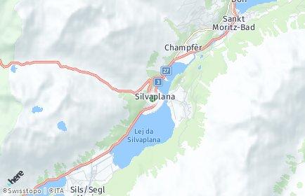 Stadtplan Silvaplana