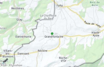 Stadtplan Grandfontaine