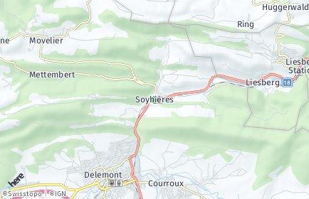 Stadtplan Soyhières