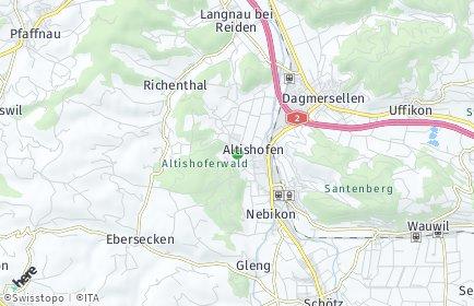 Stadtplan Altishofen