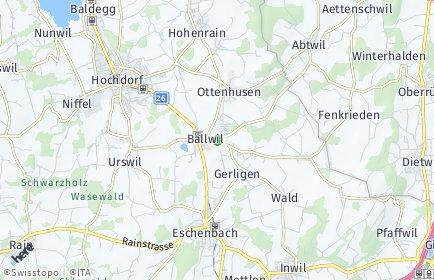 Stadtplan Ballwil