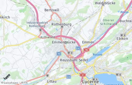 Stadtplan Emmen