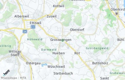 Stadtplan Grosswangen