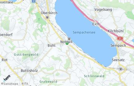 Stadtplan Nottwil
