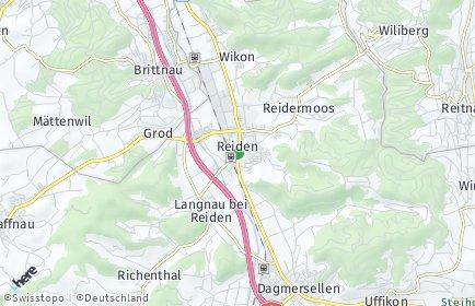 Stadtplan Reiden
