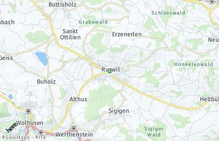 Stadtplan Ruswil