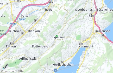 Stadtplan Udligenswil