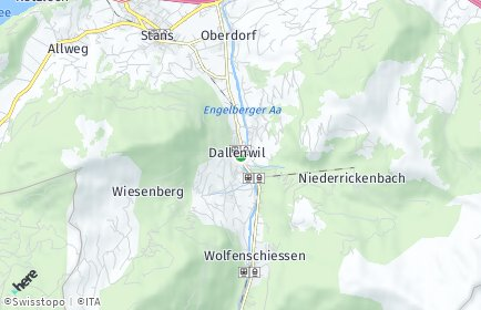 Stadtplan Dallenwil