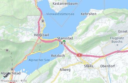 Stadtplan Stansstad