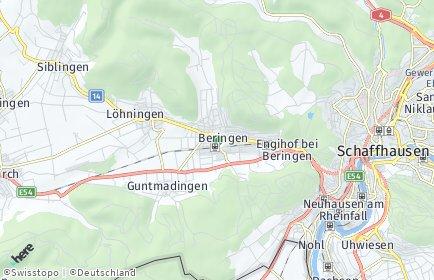 Stadtplan Beringen