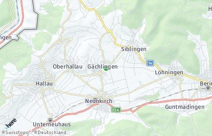Stadtplan Gächlingen