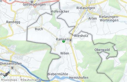 Stadtplan Ramsen